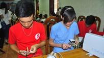 Bưu điện Nghệ An hiến máu nhân đạo