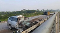 Tai nạn thảm khốc ở cao tốc Thái Nguyên: Lái xe không làm chủ tốc độ