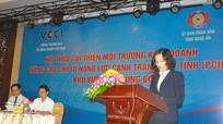 Bàn giải pháp  nâng cao chỉ số năng lực cạnh tranh cấp tỉnh khu vực Bắc Trung Bộ