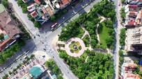 Vườn hoa vòi phun Cửa Bắc: Bình yên đến từ sự lãng quên