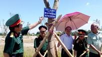 Hội CCB tỉnh và các tổ chức trồng cây lưu niệm tại Khu Di tích lịch sử Xô Viết Nghệ Tĩnh