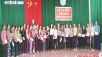 Đô Lương: Ra mắt tổ hợp tác sản xuất bánh đa Đà Sơn