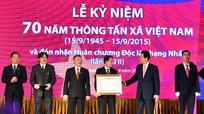 Thông tấn xã Việt Nam đón nhận Huân chương Độc lập hạng Nhất