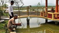 Nuôi cá giống thu lãi lớn ở Đô Lương