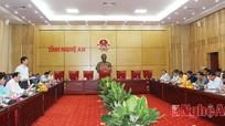Lãnh đạo tỉnh làm việc với Đoàn công tác 2 Phân ban hợp tác Việt Nam - Lào