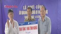 VNPT Nghệ An hỗ trợ 50 triệu đồng xây nhà tình nghĩa