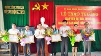 Trao thưởng 5 giáo viên đạt giải tại Hội giảng giáo viên dạy nghề toàn quốc