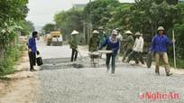 Nghi Lộc: gần 7000 hộ dân hiến đất làm đường nông thôn mới