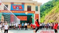 Kỳ Sơn: 190 vận động viên tham gia giải bóng chuyền nữ