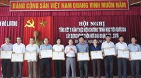 Đô Lương phấn đấu trở thành huyện NTM trong năm 2020