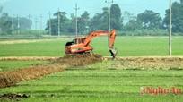 Tân Kỳ: Nỗ lực hoàn thành chuyển đổi ruộng đất trước năm2016