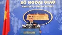 Việt Nam bảo lưu các quyền và lợi ích pháp lý ở Biển Đông