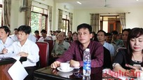 TP Vinh: Bàn phương án đền bù GPMB dự án Khu A Quang Trung