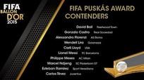 Messi & Tevez được đề cử Bàn thắng đẹp nhất năm của FIFA