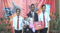 Agribank Thanh Chương trao thưởng dịch vụ Western