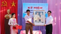 Đồng chí Nguyễn Xuân Sơn dự ngày hội Đại đoàn kết tại huyện Quỳnh Lưu