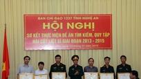 Tích cực tìm kiếm, quy tập hài cốt liệt sỹ hy sinh tại Lào