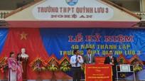 Kỷ niệm 40 năm thành lập Trường THPT Quỳnh Lưu 3