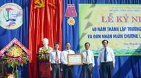 Trường THPT Phan Thúc Trực (Yên Thành) đón nhận Huân chương Lao động Hạng Ba