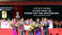Kỷ niệm 50 năm thành lập trường THPT Anh Sơn I