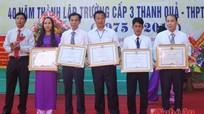 Trường THPT Đặng Thúc Hứa kỷ niệm 40 năm thành lập
