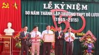 Kỷ niệm 50 năm thành lập Trường THPT Đô Lương II