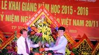 Lãnh đạo tỉnh chúc mừng Trường trung cấp nghề KT-CN-TCN