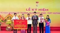 Trường THPT Huỳnh Thúc Kháng kỷ niệm 95 năm thành lập