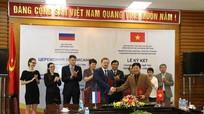 Ký kết hợp tác văn hoá giữa Việt Nam và Liên bang Nga
