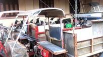 Quỳnh Lưu còn 70 xe công nông, xe cơ giới tự chế