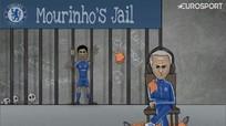 'Mourinho giam Costa vào ngục, bão MSN càn quét khắp châu Âu'