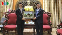 Đoàn cán bộ Đài phát thanh Trung Quốc thăm, học hỏi kinh nghiệm VOV
