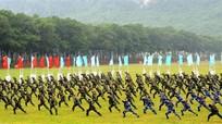 Tổng duyệt Lễ khai mạc Hội thao võ chiến đấu tay không toàn quân