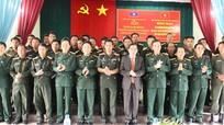 Bộ CHQS Nghệ An: Bồi dưỡng cán bộ cho lực lượng vũ trang nước bạn Lào