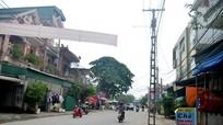Bẫy cột điện trên các tuyến đường ở thành phố Vinh