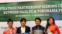 Tuấn Anh cùng Yokohama đối đầu HAGL tại cúp Tam hùng