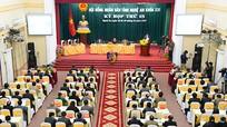 Khai mạc kỳ họp thứ 15 Hội đồng nhân dân tỉnh Nghệ An khóa XVI