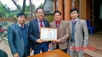 Người ủng hộ 500 triệu đồng cho làng Vân Hà xây dựng NTM