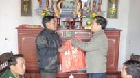 Quỳnh Lưu tặng quà các gia đình thương binh tiêu biểu
