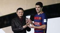 Suarez vượt Messi, đoạt Quả bóng vàng FIFA Club World Cup