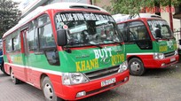 Tuyến xe buýt số 30 Vinh - Đô Lương chính thức đi vào hoạt động
