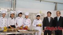 Trường cao đẳng nghề Du lịch - Thương mại Nghệ An hợp tác với Nhật Bản