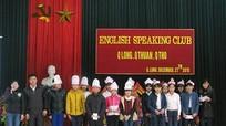 Quỳnh Lưu: Giao lưu tiếng Anh cấp THCS