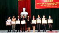 """Khối Các cơ quan tỉnh: 8 TCCS đảng đạt """"Trong sạch vững mạnh tiêu biểu"""""""