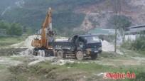 Quỳ Hợp: 57 trường hợp vi phạm trong khai thác khoáng sản