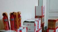 Hơn 300 bình cứu hỏa Trung Quốc nhập lậu bị thu giữ