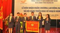 Bưu điện Nghệ An đón nhận Huân chương Lao động hạng Nhì