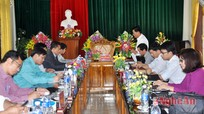 Nhân rộng mô hình sử dụng báo đảng hiệu quả ở Quế Phong