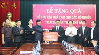 Ban Chỉ đạo Tây Bắc trao 2 tỷ đồng hỗ trợ hộ nghèo tỉnh Nghệ An