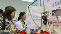 Hơn 120 sản phẩm dự khoa học kỹ thuật dành cho học sinh trung học